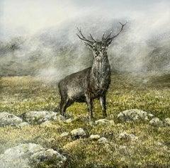 My Monarch - original contemporary landscape oil painting