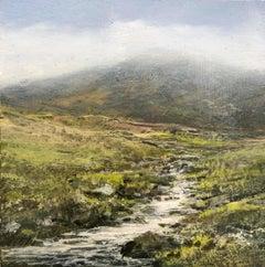 New Wind Original miniature landscape painting Contemporary Impressionism