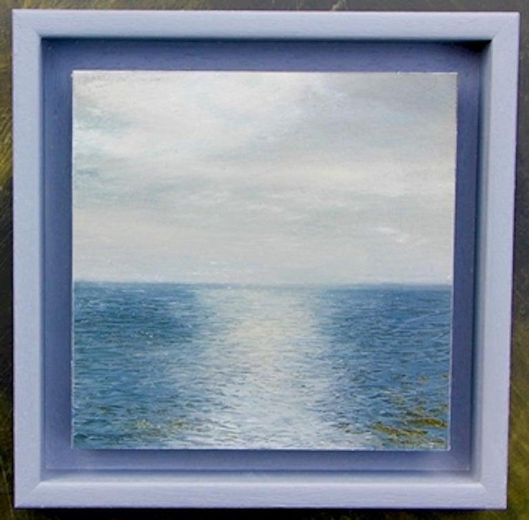 Garry Raymond - Pereira Landscape Painting - Radio Forecasts - original seascape painting contemporary modern art 21st C