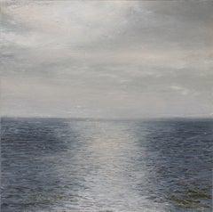Radio Forecasts - original seascape painting contemporary modern art 21st C