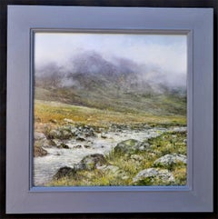 Running Waters - original contemporary landscape oil painting