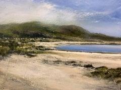 Skye original miniature landscape painting Contemporary Impressionism