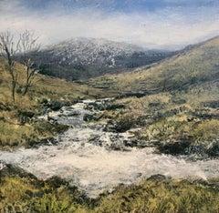Skye Study miniature landscape painting Contemporary Impressionism