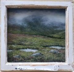 Watching Fairy Pools original  landscape  painting