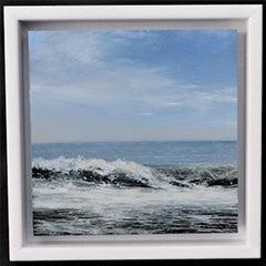 Weekend Wave 1 - original seascape painting contemporary modern art 21st Century