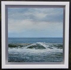 Weekend Wave 2 - original seascape painting contemporary modern art 21st Century