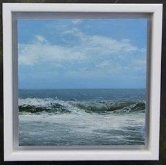 Weekend Wave 3 - original seascape painting contemporary modern art 21st Century