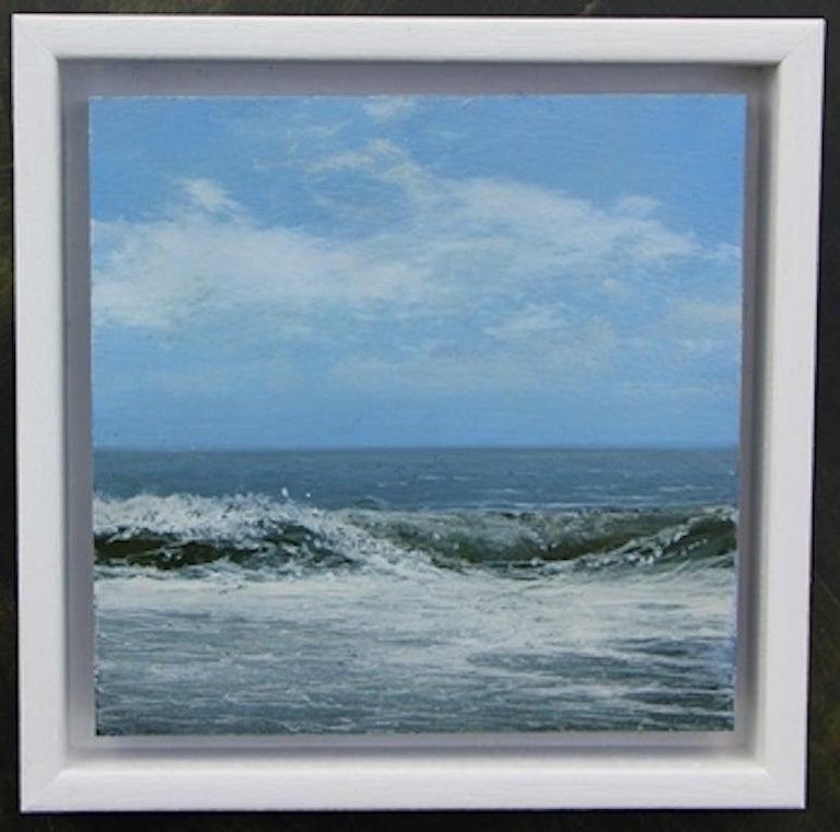 Garry Raymond - Pereira Abstract Painting - Weekend Wave 3 - original seascape painting contemporary modern art 21st Century