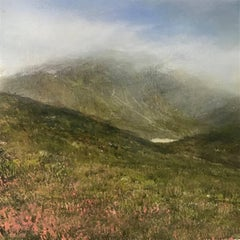 Where I live  original highlands miniature painting