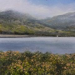 Wild Gorse - original landscape contemporary 21st century painting