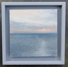 Wireless Forecasts - original seascape painting contemporary modern art 21st C