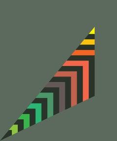 Stripey Scalene Triangle
