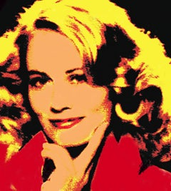 Cybill Shepherd 1 (this is a large print on canvas; see below for smaller sizes)