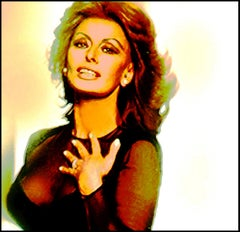Sophia Loren 1 (this is a large canvas print; see smaller sizes below)