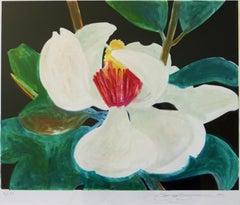 Magnolia Blossom - Gary Bukovnik Lithograph