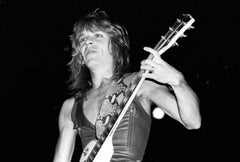 Randy Rhoads Playing Guitar on Stage Vintage Original Photograph