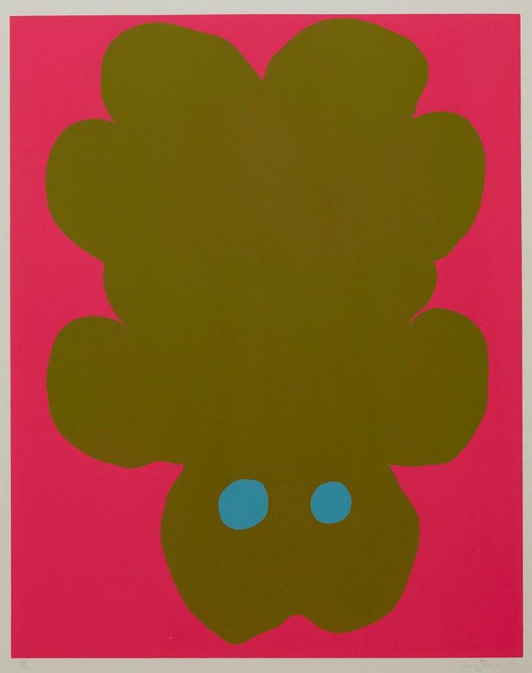 Falling Bear - Print by Gary Hume