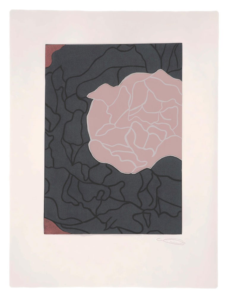 Here's Flowers - Contemporary Art by Gary Hume