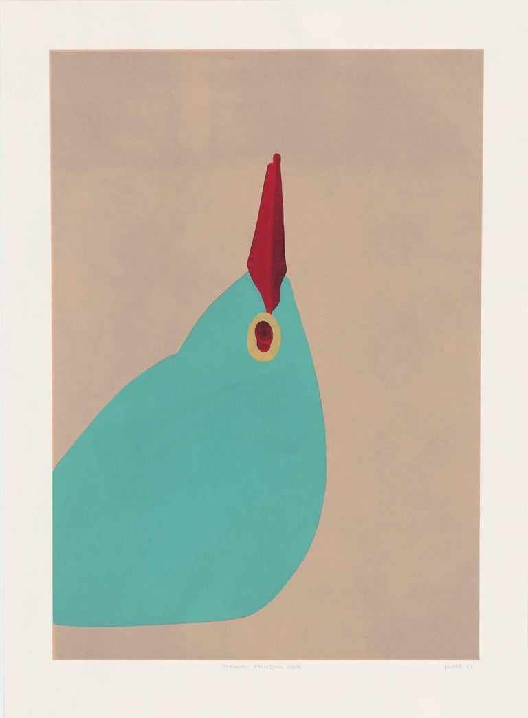 Gary Hume Animal Print - Paradise Four