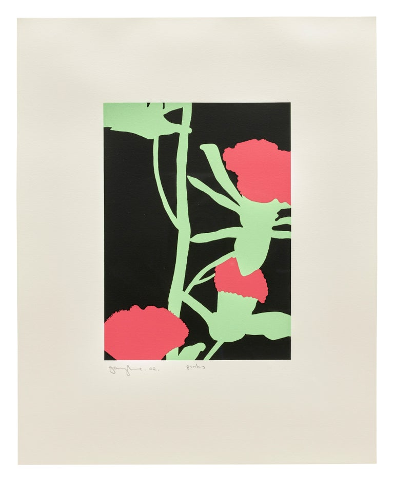 Gary Hume Still-Life Print - Pinks