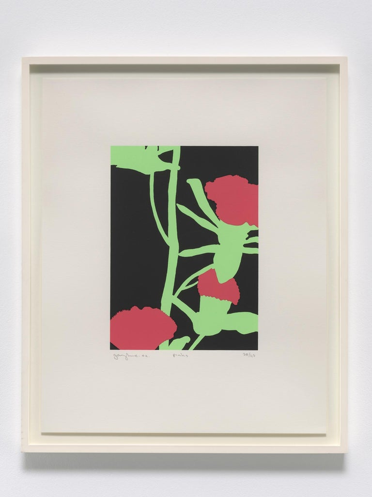 Pinks - Contemporary Print by Gary Hume