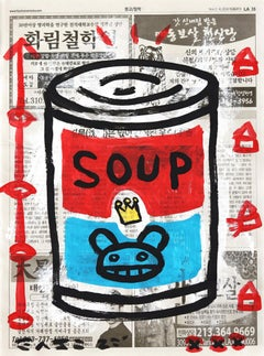Colorful Soup Can