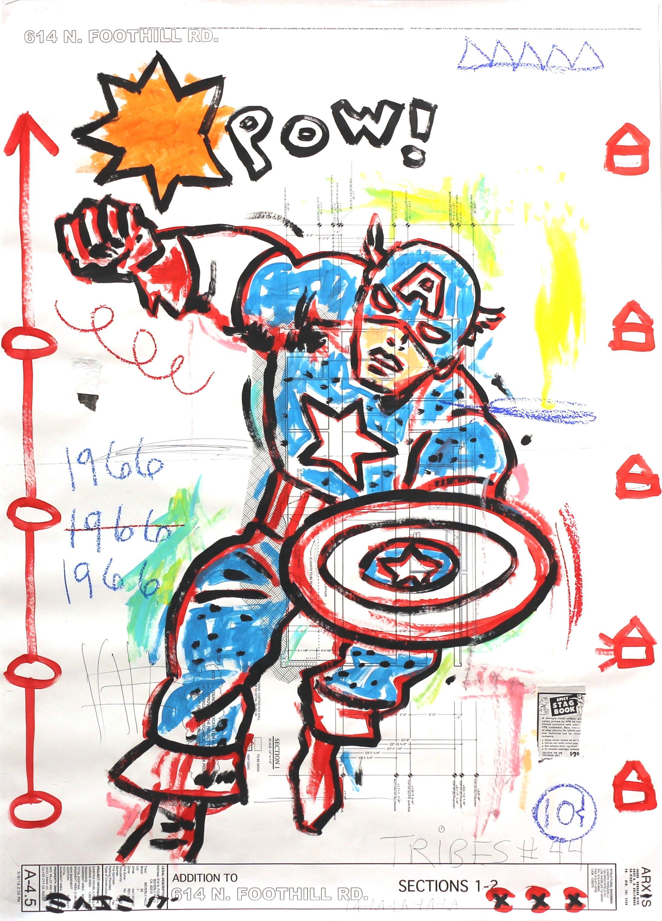 Hurry Captain America!