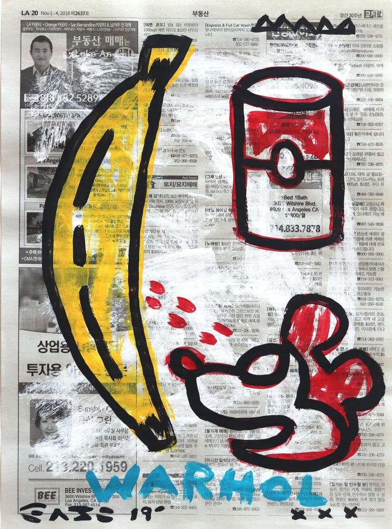 Gary John Figurative Painting - Is This Warhol