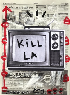 Kill TV - Original Street Artwork