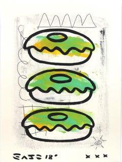 Kiwi Donuts