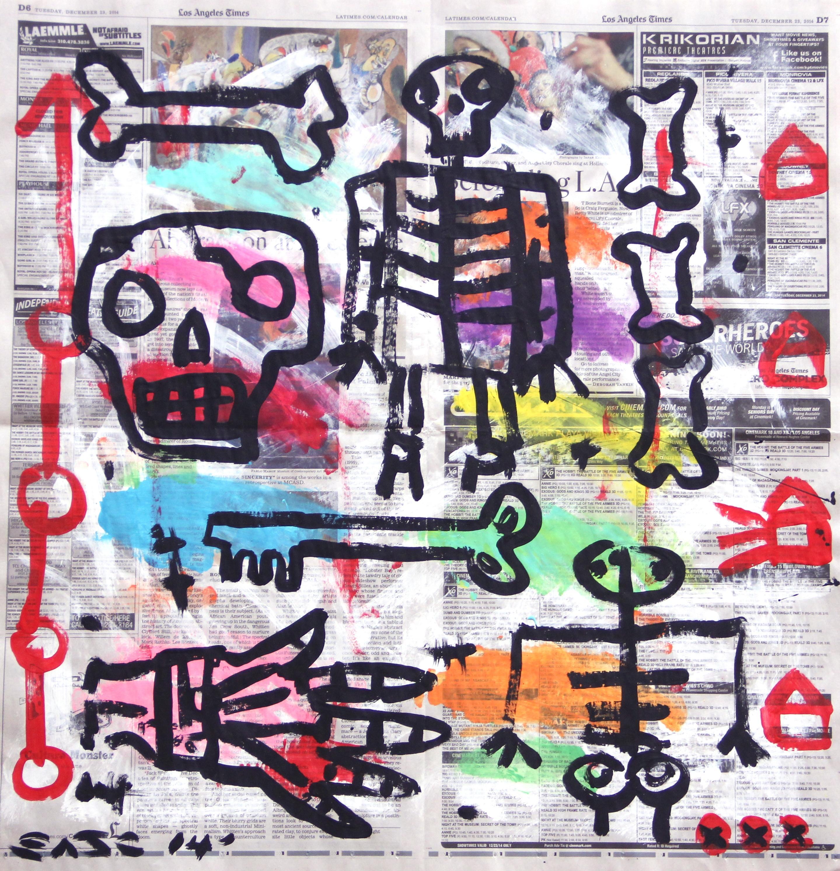 Krik - Original Gary John Street Art