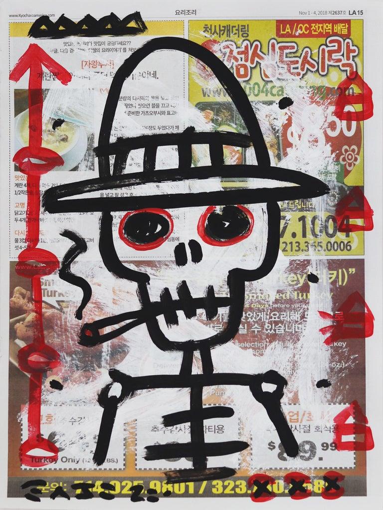 Gary John Figurative Painting - Rigid Ranger