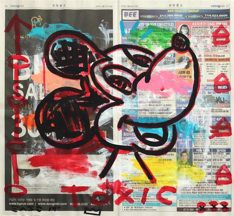 Toxic - Mixed Media Art by Gary John