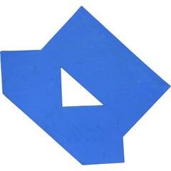 Atrium - Blue Geometric Abstract