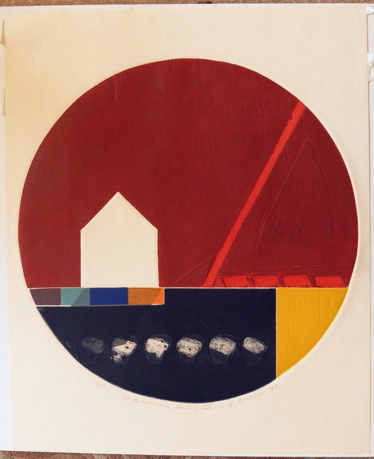 In Between The Houses III - Print by Gary Lee Shaffer