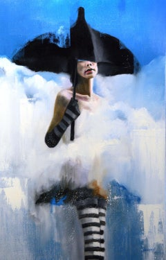Cloud Dancer, Oil Painting