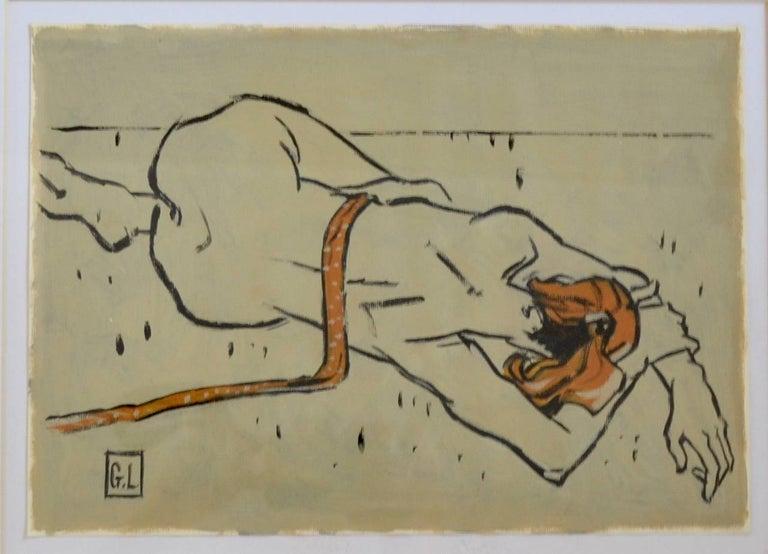 Gary Long Figurative Art - Figure