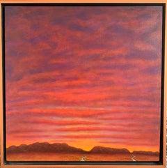 Oil on Canvas Landscape -- Birds See Color