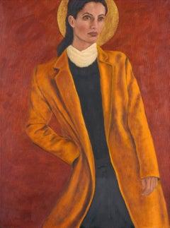 Oil on Canvas -- Fashionista Moon