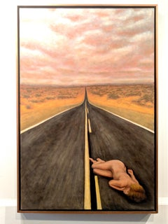 Oil Painting -- Highway Rest