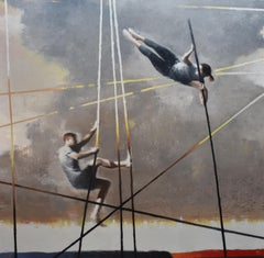 Misjudged, Contemporary Realism, Figurative, Balance, Oil