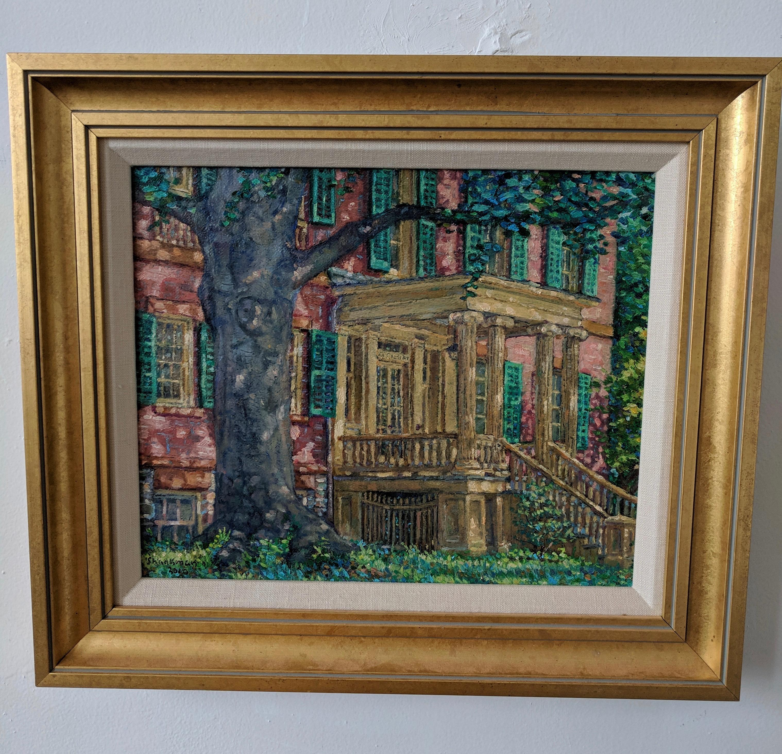 Oil Painting on Linen --Ten Broeck Mansion