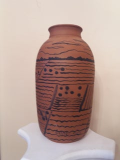 Mallorca landscape original ceramic sculpture