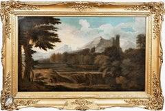 Classical Italian Landscape, 17h Century