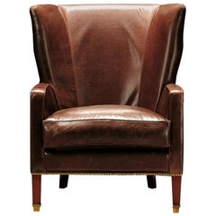 Gaston Armchair in Leather
