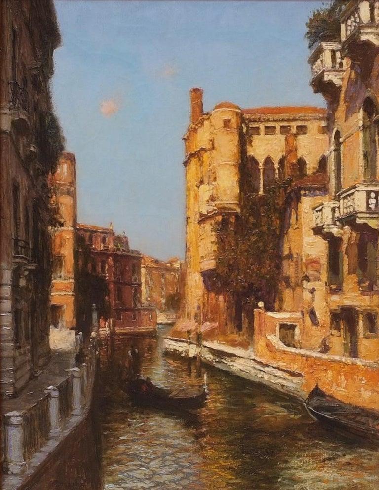 Venice - Academic Painting by Gaston Hippolyte Ambroise Boucart
