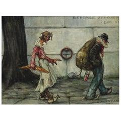 Gaston Le Bueze Painting