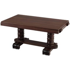 Gaston Poisson Mahogany Dining Table