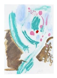 Joyful - Original Lithograph by Gastone Breddo - 1970s