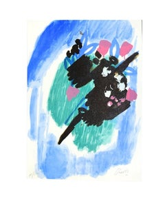 Spring Air - Original Lithograph by Gastone Breddo - 1970s